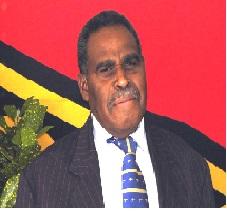 Paul Telukluk - Minister of Internal Affairs