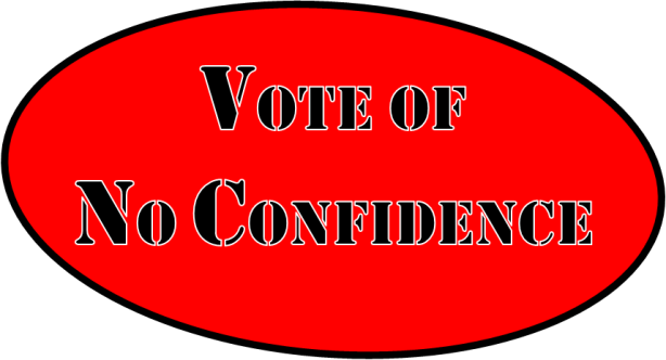 Vote of No Confidence