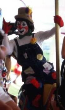 Political Clowns on Merry-Go-Round